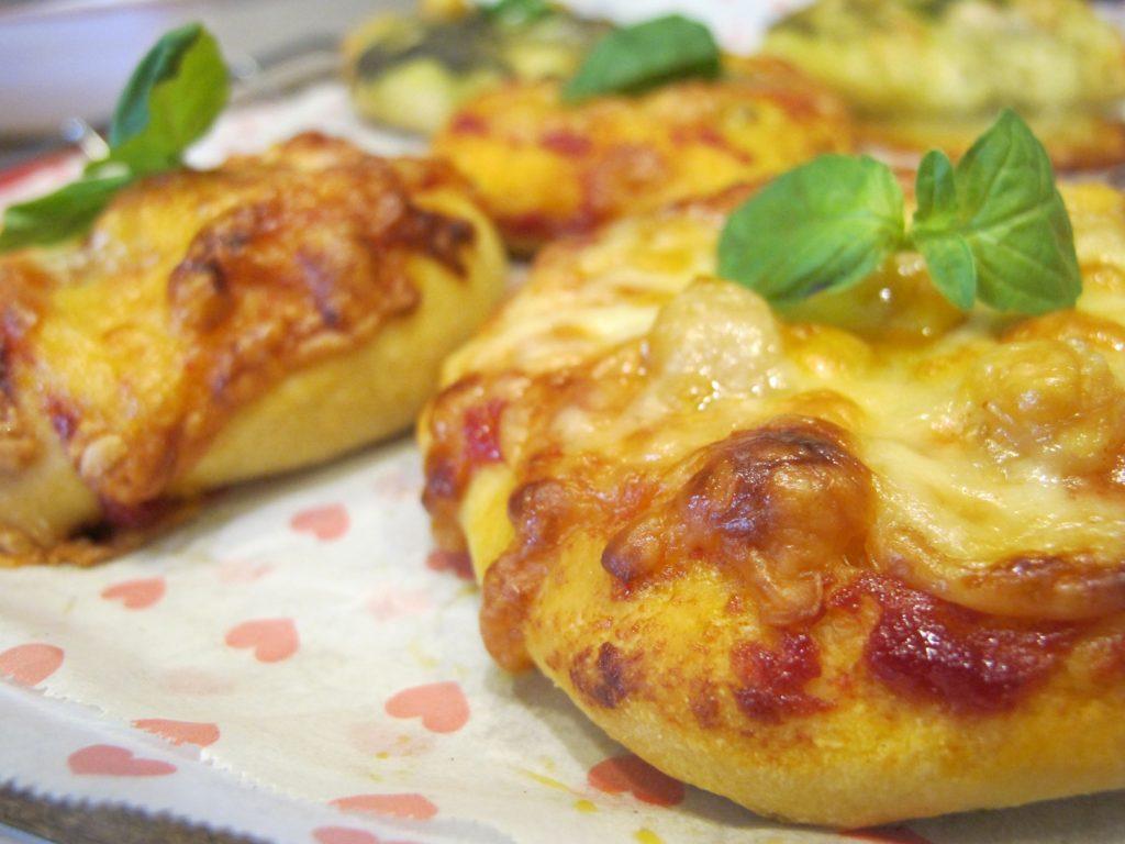 ひなたぱんの継続パンクラスのピザ
