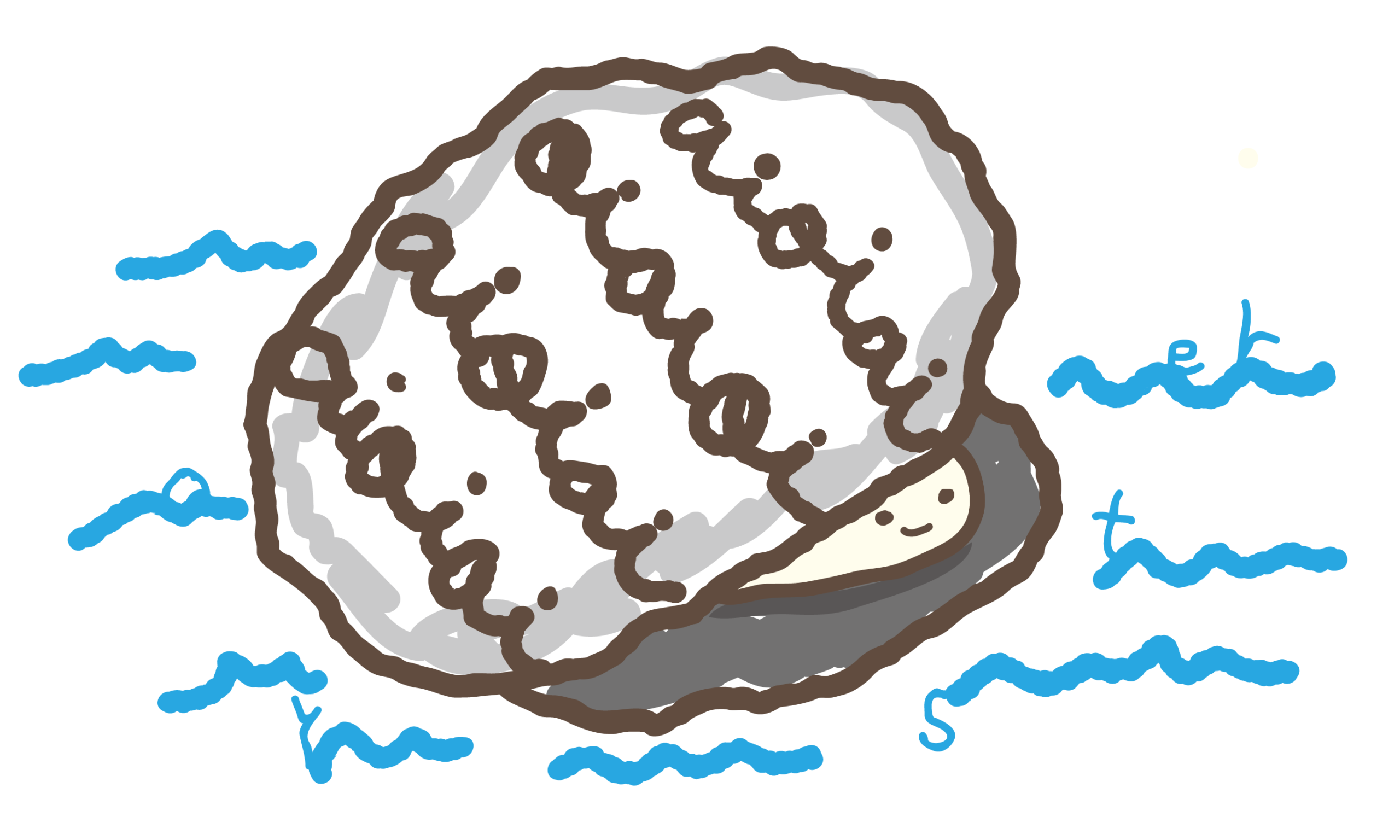 牡蠣イラスト元絵